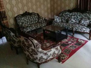 Sofa Tamu Jati Ukiran