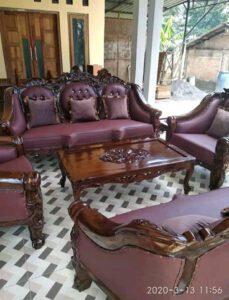 Model sofa ruang tamu ganesha
