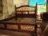 Tempat tidur ukir motif Rahwana